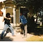 """Duelling Guitars 1998"""