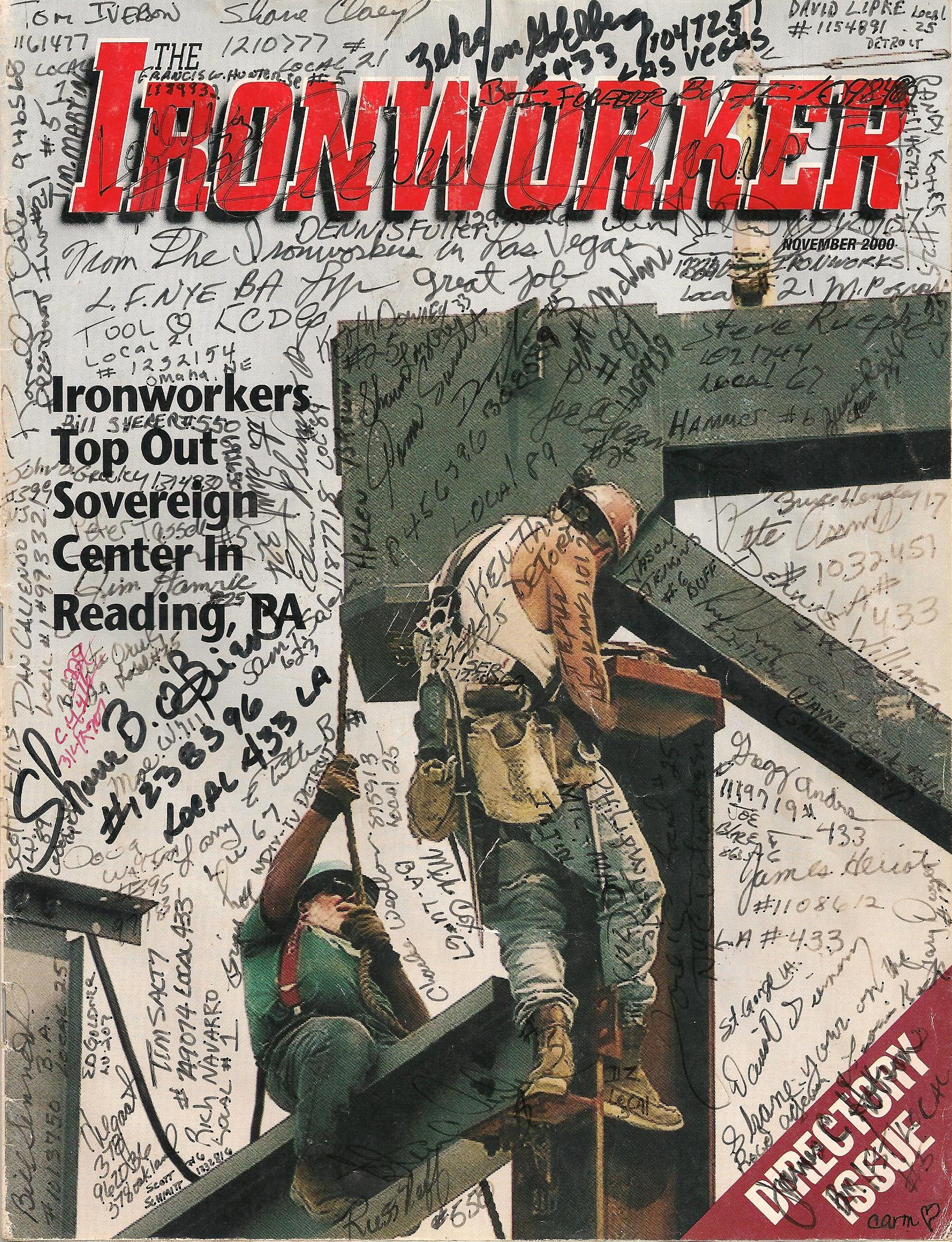 Ironworkers Magazine Directory Issue | O'Brien's Edge