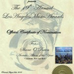 """Los Angeles Music Awards 2009_ Nominatio_Acoustic Album of the Year"""