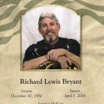 """Celebration of Life_Veteran Richard L. Bryant"""