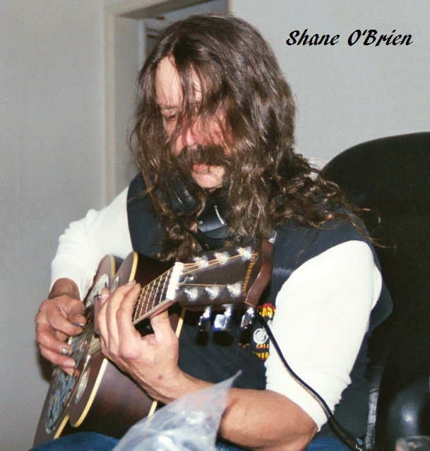 Shane O'Brien Guitaist and Vocalist for O'Briens Edge since day 1 in 2000