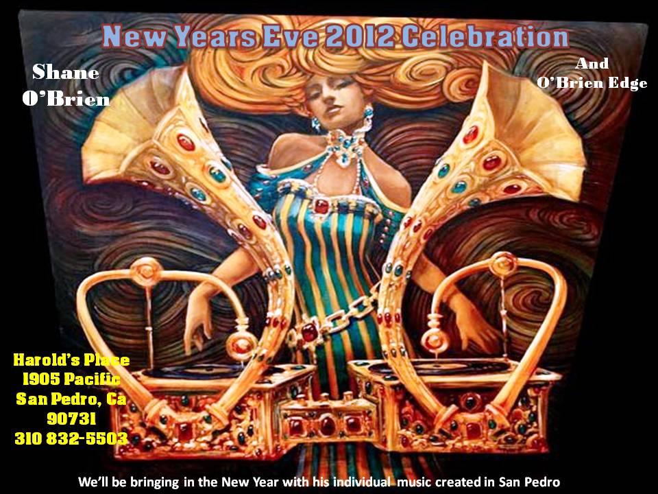 New Tears Eve 2012 Celebration with Shane O'Brien and O'Briens Edge