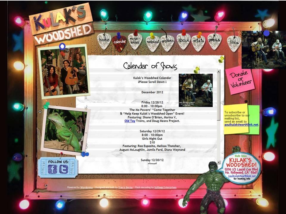 """""""Shane O'Brien Live on Kulaks Woodshed 12 28 2012"""""""