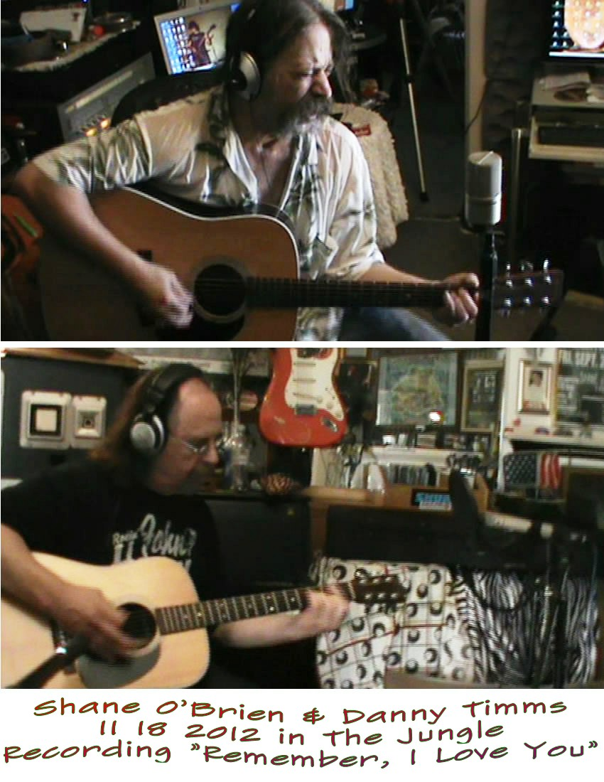 Remember, I Love You recorded Nov 18 2012 in THe Jungle Studio San Pedro, CA