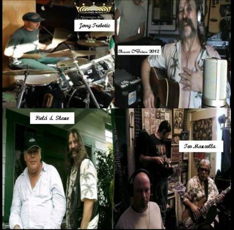 """""""Shane O'Brien and O'Briens Edge session11 17 2012 in the Jungle Studio"""""""