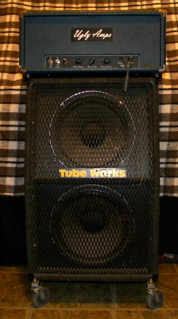 UGLY-18 Tube Amp and Speaker Cabinet 2x12