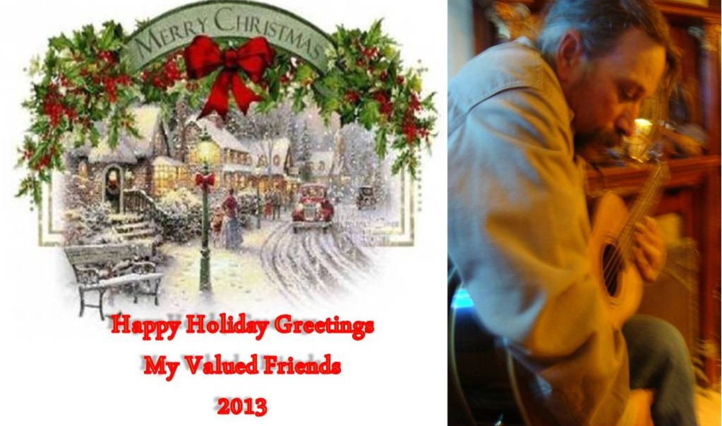 Happy and Safe Holidays 2013 from Shane O'Brien