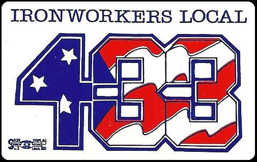Local 433 Election Sticker 2009