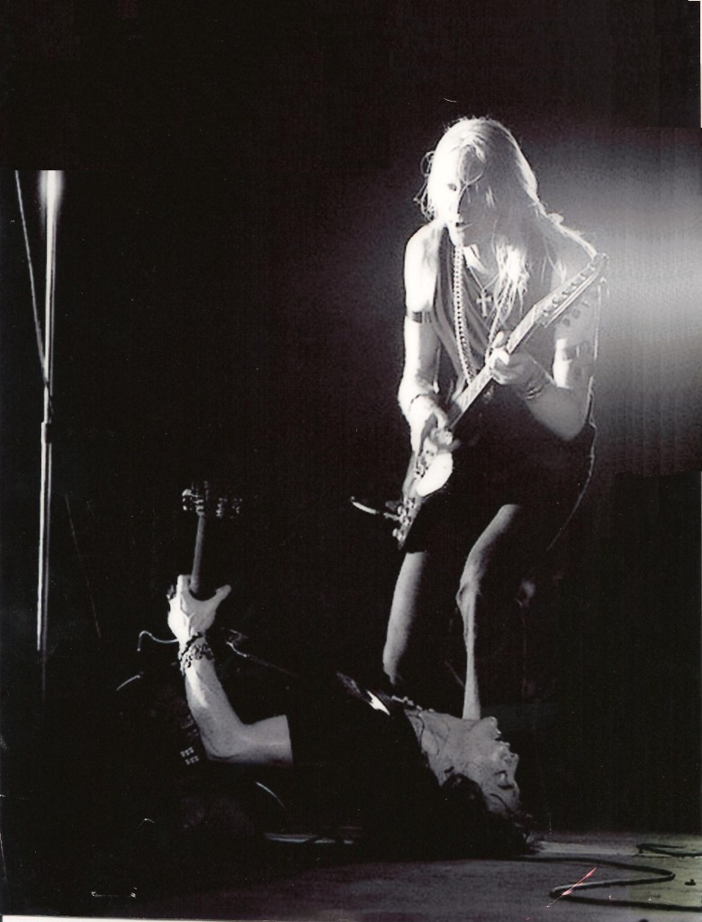 Johnny Winter and Rick Derringer